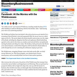Facebook: At the Movies with the Winklevosses