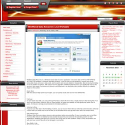 WinMend Data Recovery 1.6.0 Portable » SoftLab-Portable.com - Portable Soft!