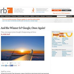 And the Winner Is? Google, Once Again!