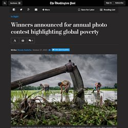 Winners announced for annual photo contest highlighting global poverty