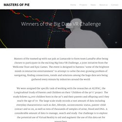 Winners of the Big Data VR Challenge