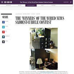 The 'Winners' of the Wired News Saddest-Cubicle Contest