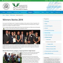 Winners Stories 2014