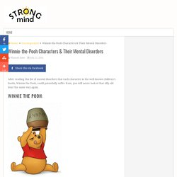 Winnie-the-Pooh Characters & Their Mental Disorders