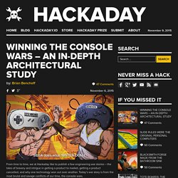Winning the Console Wars – An In-Depth Architectural Study