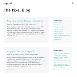 The Pixel – Award Winning Creative Design Agency