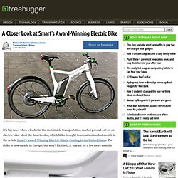 A Closer Look at Smart's Award-Winning Electric Bike