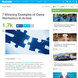 7 Winning Examples of Game Mechanics in Action