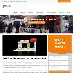 Award Winning Trade Show Management Company USA