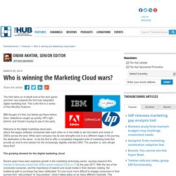 Who is winning the Marketing Cloud wars?