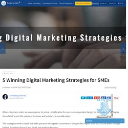 5 Winning Digital Marketing Strategies for SMEs
