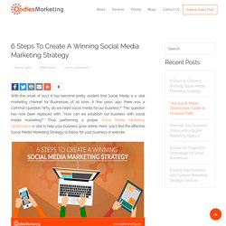 6 Steps to Create a Winning Social Media Marketing Strategy