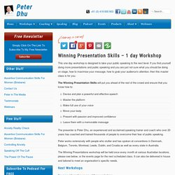 Winning Presentation Skills