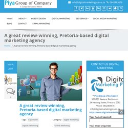 A great review-winning, Pretoria-based digital marketing agency