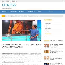 Winning Strategies to Help You Shed Unwanted Belly Fat – Page 2 – FITNESS