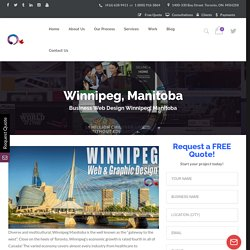 Winnipeg Manitoba Web Design