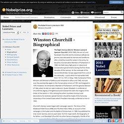 Winston Churchill - Biography