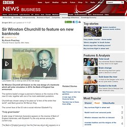 Sir Winston Churchill to feature on new banknote