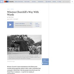 Winston Churchill's Way With Words
