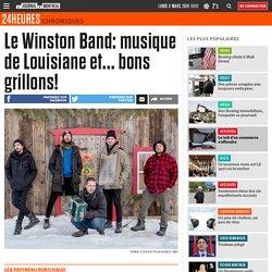 Le Winston Band: musique de Louisiane et... bons grillons!