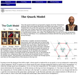 Dr. Winston Roberts, The Quark Model