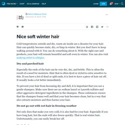 Nice soft winter hair : ext_5513446 — LiveJournal
