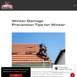 Winter Damage Prevention Tips for Winter