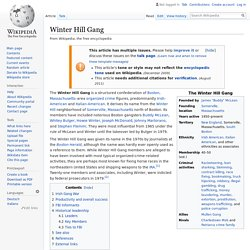 Winter Hill Gang - Wikipedia