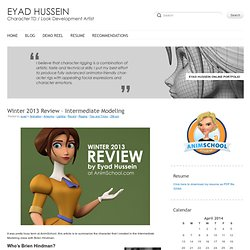 Winter 2013 Review - Eyad's Blog