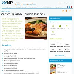 Winter Squash & Chicken Tzimmes Recipe
