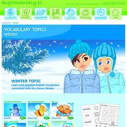 Winter Topic for ESL Kids