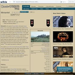 Winterfell - Game of Thrones Wiki - Wikia