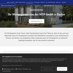 Wintergarten von MTP GmbH in Baden