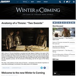 WinterIsComing.net - News and rumors about HBO's Game of Thrones