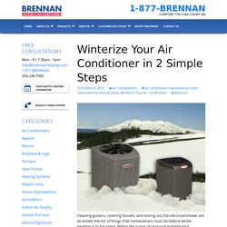Winterize Your Air Conditioner