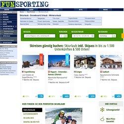 Winterurlaub jetzt billig buchen: Ski- & Snowboardurlaub - snowboard reisen - snowboard urlaub