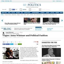 Vogue: Anna Wintour and Political Fashion