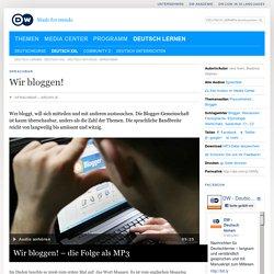 Bloggen - HV + Ü DW 2014