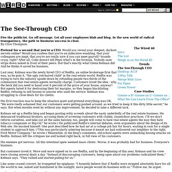 Wired 15.04: The See-Through CEO