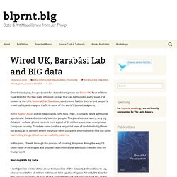 Wired UK, Barabási Lab and BIG data