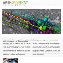 WiredDifferently – Uniting Us to Explore the Jungle of the Mind