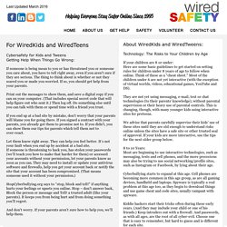 About WiredKids and WiredTweens
