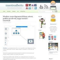 Wireflow: creare diagrammi di flusso, schemi, grafiche per siti web, mappe mentali e concettuali