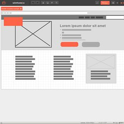 minimal wireframing tool