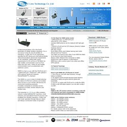 Get the finest 4G broadband router at E-Lins technology – E-Lins technology Co., Ltd