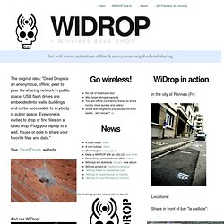 Wireless Dead Drop