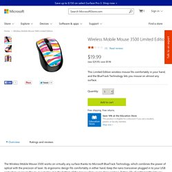 Buy Wireless Mobile Mouse 3500 Limited Edition