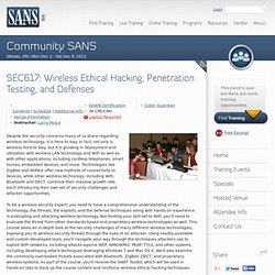 Community SANS