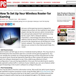 How To Set Up Your Wireless Router for Gaming