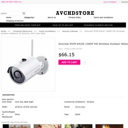 Amcrest IP2M-842W 1080P HD Wireless Outdoor Network IP Security WiFi Cam NEW